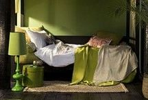 GREEN Home Décor ♥ / Green is always good :)