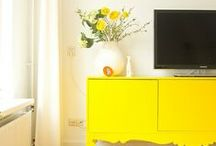 GOLD & YELLOW Home Décor / Yellow for gold, butter and ripe lemons!