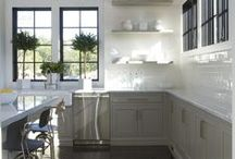 Kitchen - Classic / Modern yet classic kitchens. Picked by www.interiorsbygeorgie.com