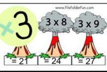 Matikka kertotaulu / multiplication/murtoluvut