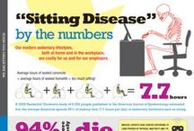 Sitting Disease / Sitting and other sedentary behaviours are a fixed part of modern life, but too much of sitting has serious health consequences. Sitting shuts down vital metabolic processes in our muscles.