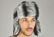 Men's fur hats
