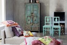 Boho Beautiful / Eclectic find for boho beautiful decor. Pins picked by www.interiorsbygeorgie.com