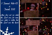Elf on the shelf 2014 / Our elf on the shelf for 2014! We use out elf to deliver an important message from God!