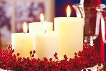 Art of candles @home / Candles!  Inspiring ideas for decorating your home for Christmas and New Year, romantic dinner or just for a cozy evening with your family and friends.