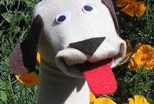 käsinuket ja sorminuket / puppets and fingerpuppets