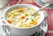 Soups and Salads / Link to [ MyGourmetCafe.com ] #soup # Salads