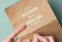 Book Binding / Turn your children's writing projects into a book with these tutorials!