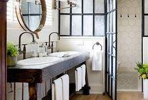 Bathrooms / www.interiorsbygeorgie.com