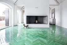Floors / A floor can change everything. Picked by www.interiorsbygeorgie.com
