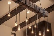 Industrial Chic / Inspiration for the latest trend in industrial home interiors.