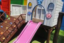 Jungle Gyms / Playground Equipment by Playground Wizards / Playhouses, Wendys & wooden structures built by Playground Wizards. www.playgroundwizards.co.za.  Contact: sales@playgroundwizards.co.za