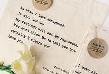 Pride & Prejudice / Party and gift ideas for fans of Jane Austen's Pride & Prejudice.