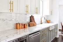 Kitchens To Live In. / A memorable kitchen, a Farminista kitchen