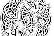 узоры кельтские
