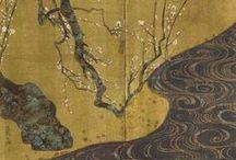 японские ширмы