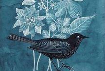 рисунки с птицами