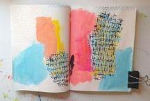 Book Art + Notebooks