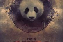 PaNDa <3 / An nickname by my bff ^^ Baby panda transformed to my personality and some people often prefer to call me rather panda than Adaya. I`d <3 to see an mother and her baby panda some day... <3