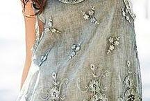 вышитые платья с кружевом