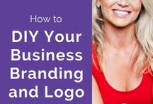 Branding For StartUps and Women In Business / Branding tips for startups and women in business wanting to create a beautiful brand to attract the right customers and build a successful and profitable business. By Sarah Rose Graphic Design