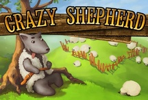 Crazy Shepherd for iPad & iPhone (Game) / You always thought that aliens are wise and all-mighty? Not at all. They really need your help now! Their planet freezes and only sheep from the Earth can rescue them. At special breed of special sheep's wool grows very quickly to produce many warm sweaters! Your task is to lead sheep through 60 difficult levels on Earth and Mars protecting them from angry wolves, lava and other dangers.  crazyshepherd.decafegames.com