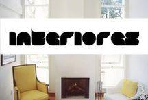 Interiores  / Técnica cenográfica e visual para a composição e decoração de ambientes internos.