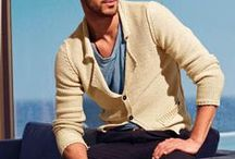 Men's Cardigans / Relax, stop worrying about whether it looks manly or not, and learn to wear the soft, open-fronted sweater like a gentleman. https://www.realmenrealstyle.com/search-results/?q=cardigan