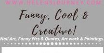 Artwork (Street art, Sculptures, Nail Art, Food Art etc) ~ Appreciated by Helens Journey