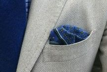Pocket Squares / You see that's the brilliant thing about pocket squares – once you start to wear them you're going to look around you and notice that this is something most well-dressed men who pay attention to details wear.