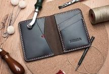 Men's Wallets / Remember this rule, if nothing else, the smaller your wallet is, the less you will carry.