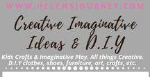 Creative Imaginative Ideas & DIY ~ A Helen's Journey Collection