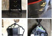 Muebles vintage / Ideas para restaurar o reciclar muebles