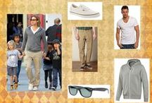 How to | Dad Style / Fathers and Dads fashion ideas inspired by celebrities