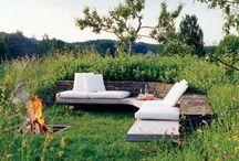 Garden Party / Outdoor decor ideas Gardens/Balconys/Patios / by katie sayers