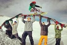 Snowboarding / Shredder for life ♡♥♡ Snowboarding and longboarding aren't just a sport but a lifestyle :)  / by Philomena Leavitt
