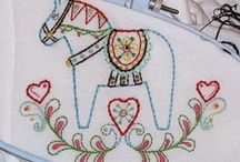 embroidery patterns, designs and applique templates for sewing / by queenbea