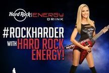 Hard Rock Energy / Hard Rock Energy is an energy drink for those who want to #RockHarder.  This one of a kind energy drink will keep you fueled and focused! It is available in 3 delicious flavors: original, paradise punch, and sugar free. Each tasty beverage delivers an explosion of flavor, fizz, and energy!