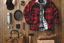 Outdoorsman Guide / A man's guide to dressing and surviving outdoors