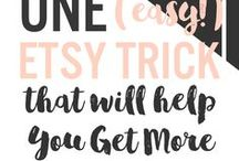 Etsy tips ~ / Selling on Etsy and all tips for creative entrepreneurs on this topic!