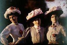 Bluzki secesja / blouses 1890-1915