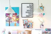 How to | Plan Workspace / Find original designs and home decor ideas for your office. Great ways to maximise your space! #deco #desk #workplace #design #inspiration #interior