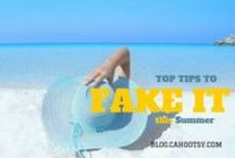 How to | Summer Beauty Tips / Top tips and tricks to set you up for summer without even leaving the house. Get the best beauty, home decor, entertaining and tech ideas #gettan #summer #tips #beauty