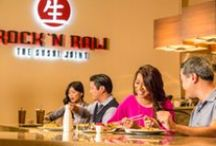 Sushi / Sushi from Rock N Raw located in the Seminole Hard Rock Hotel and Casino in Tampa Florida