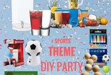How to |  Sports Party / How to host the perfect sports themed party including ideas for a football party, tennis party and more #host #party #foodie #sportstheme