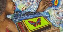 Les miniatures de Papa Mfumu'Eto 1er / Papa Mfumu'Eto 1er, artiste-bédéiste-anthropologue, a réalisé une série d'œuvres de petit format mettant en scène le quotidien des Congolais à travers leurs objets et biens de consommation courants. Indispensables à la vie quotidienne des Kinois, ils emblématiques d'un lieu et d'une époque.  Installé au cœur d'un quartier populaire de Kinshasa, Papa Mfumu'Eto 1er poursuit la narration colorée de la société populaire de son temps.