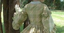 1855-60 simple dress