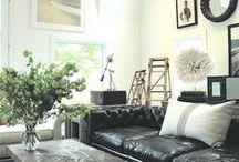 Manly Interiors / A compilation of images of manly rooms and houses