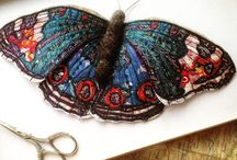 My butterflies & moths / My butterfly and moth creations available at www.heatheremb.co.uk