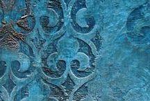 Turquoise home decor / Mediterranean taste